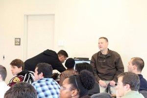 """ken sundheim speaks to students at Salisbury univeristy"""